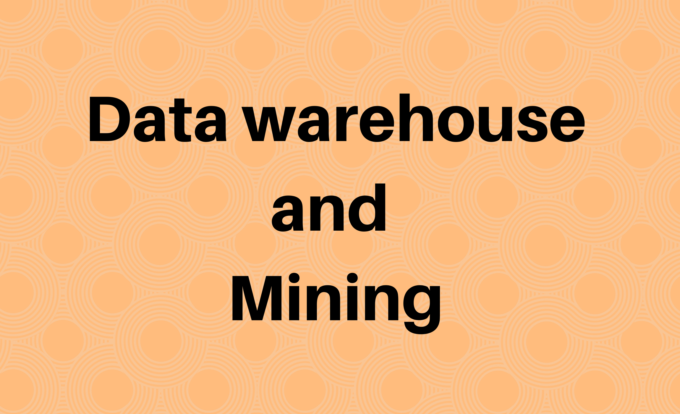 Data Warehouse & Mining
