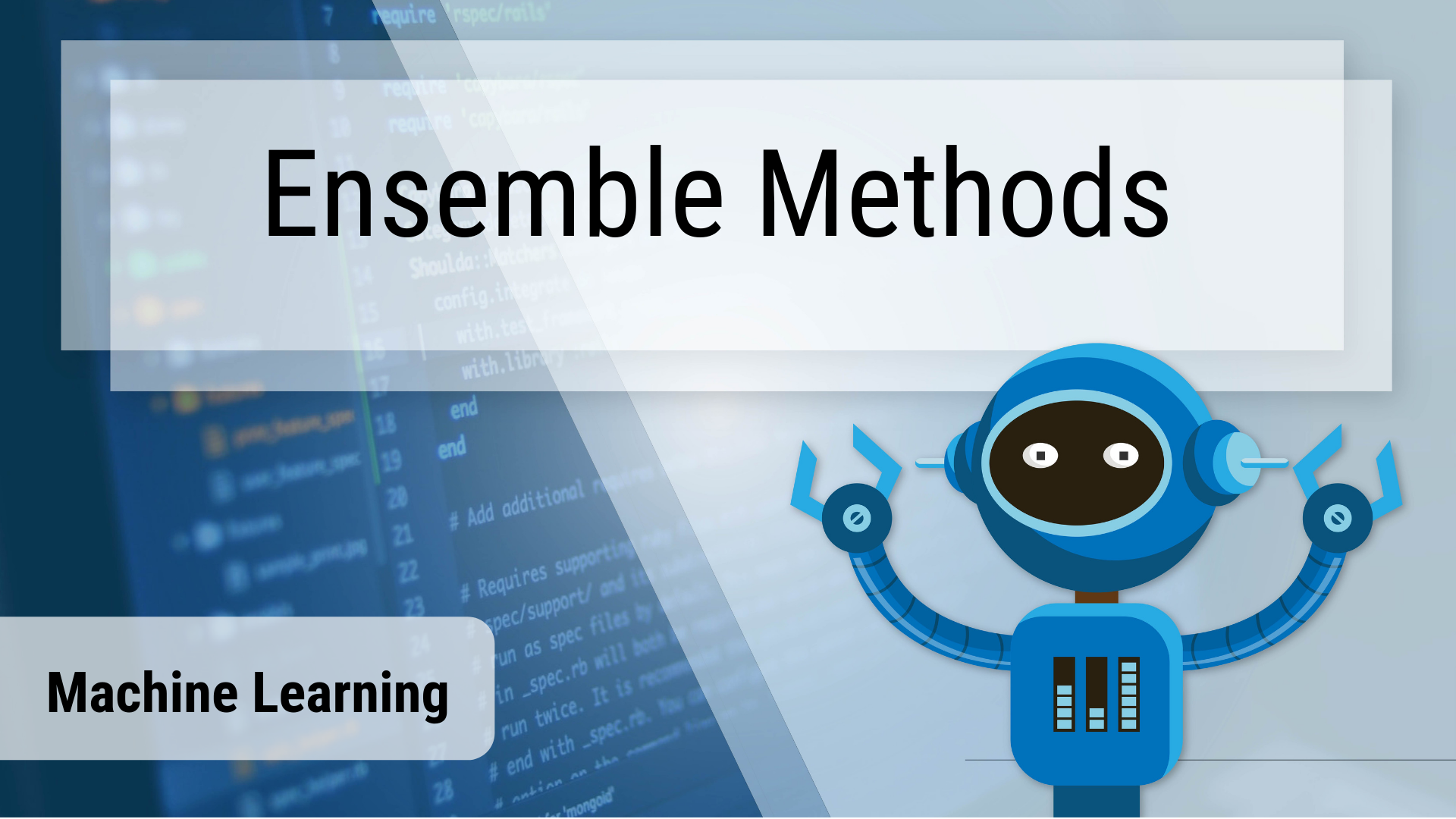 Ensemble Methods