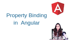 What is Property Binding in Angular