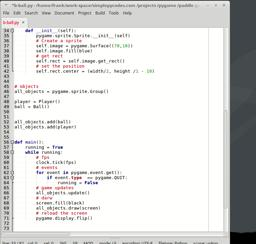 game development with python and pygame. Part 3