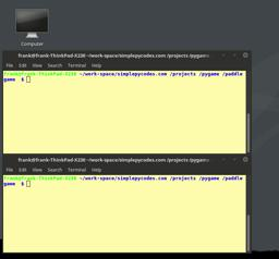 game development with python and pygame. Part 1