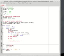 game development with python and pygame. Part 2