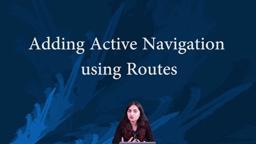 Angular Routing - Adding Navigation Links