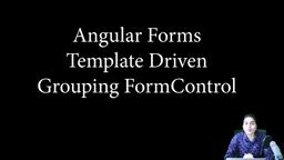 Angular Forms - Template driven - adding default values & grouping controls