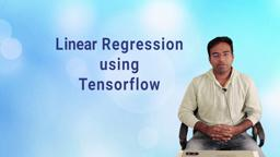Tensorflow- Linear Regression