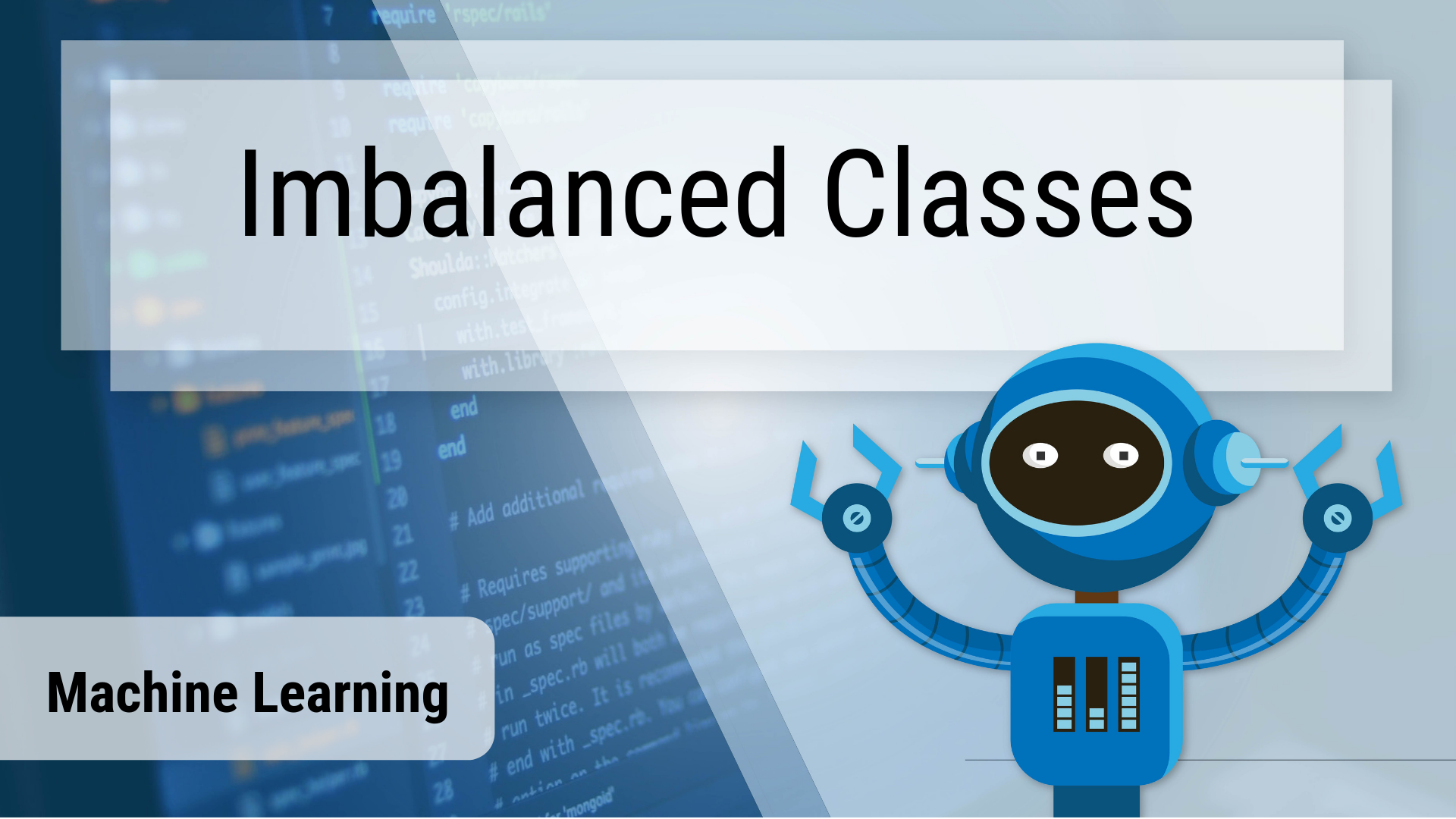 Handling Imbalanced Classes