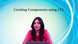 Creating Components using CLI
