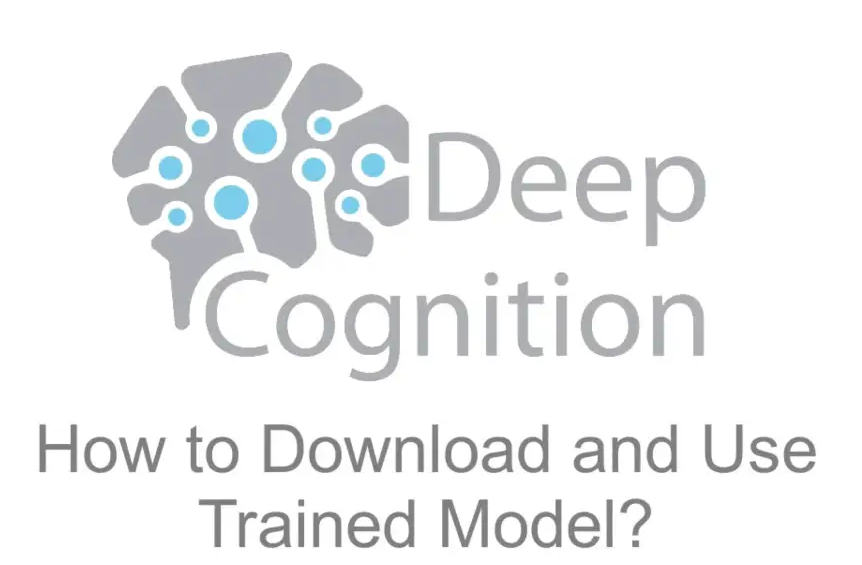 How to Download And Use Trained Model from Deep Learning Studio