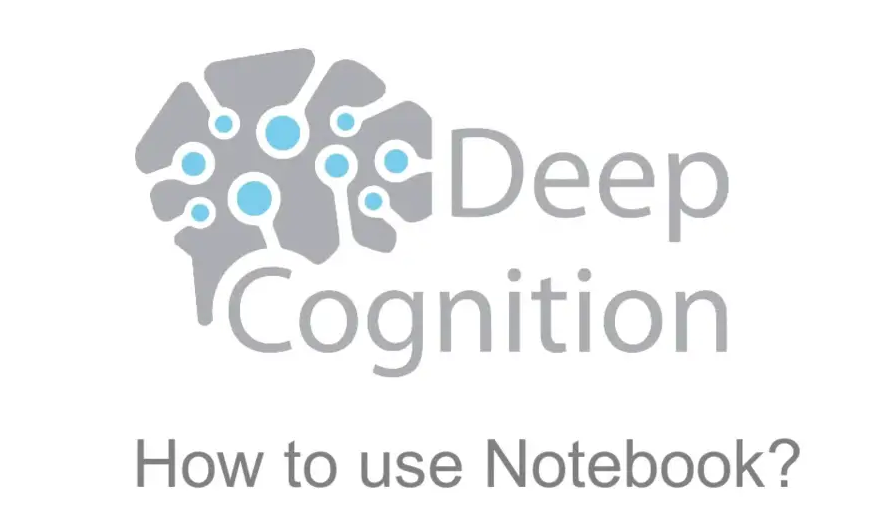 How to Use Notebook on Deep Learning Studio