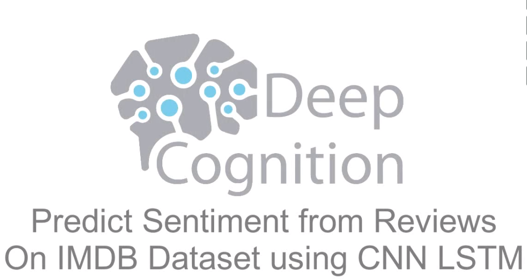 IMDB Predict Sentiment from Reviews Using CNN LSTM