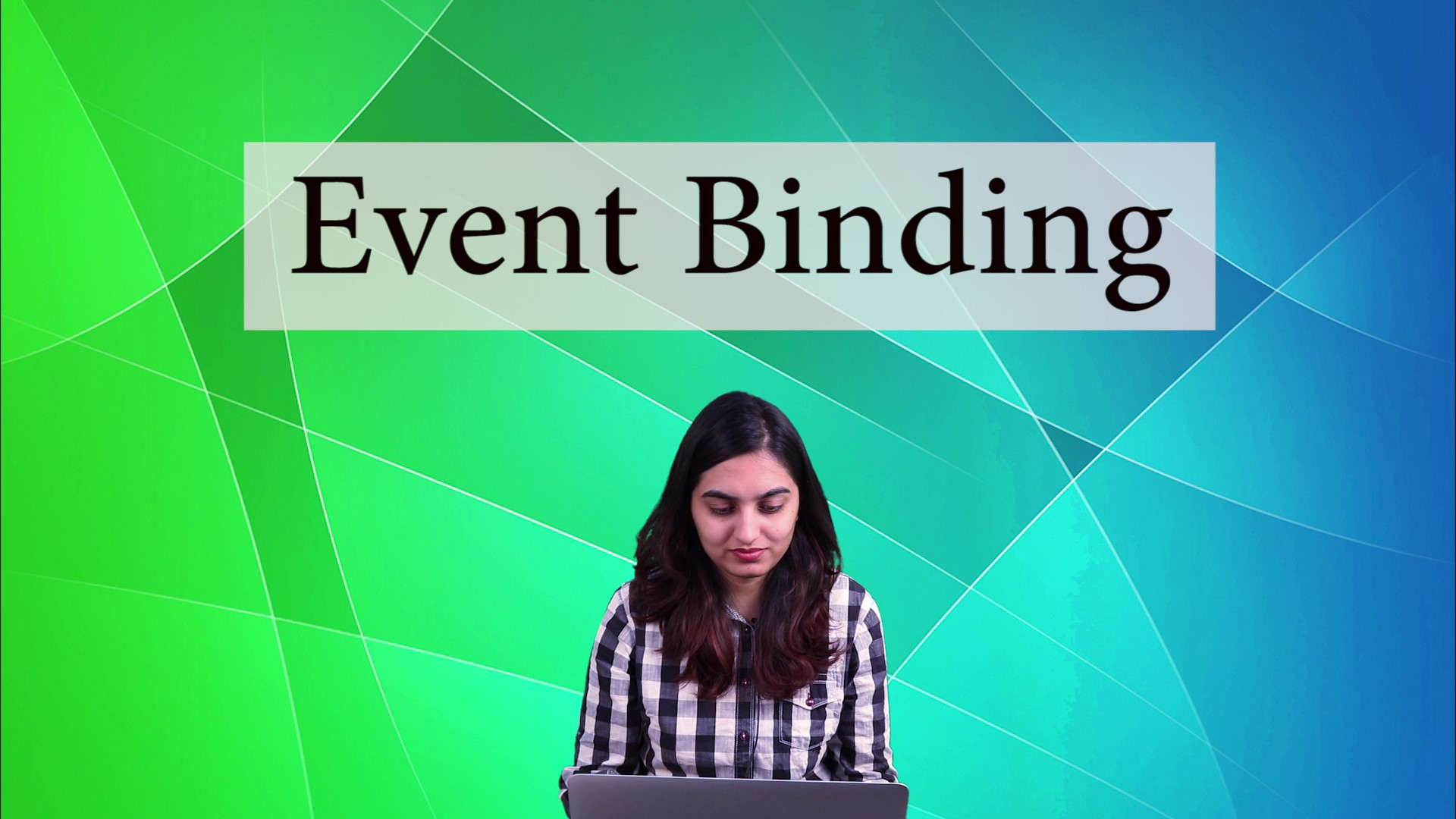 What is Event Binding in Angular