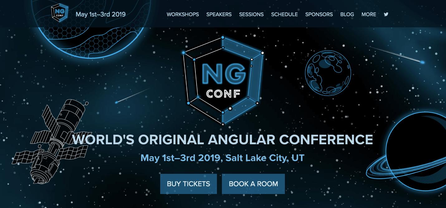 NG Conf - World's Original Angular Conference