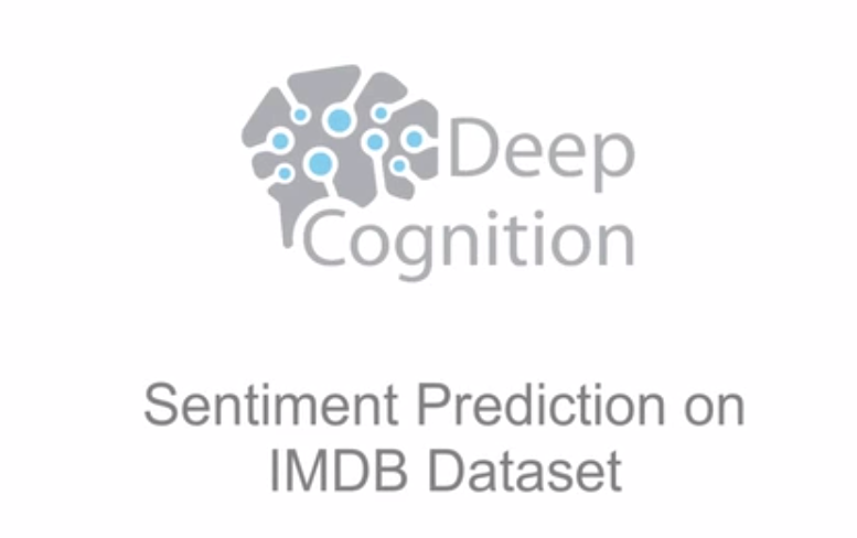 Sentiment Prediction (NLP) on IMDB Movie Review Text Dataset in 3 Minutes (using LSTM RNN / Recurrent Neural Network)