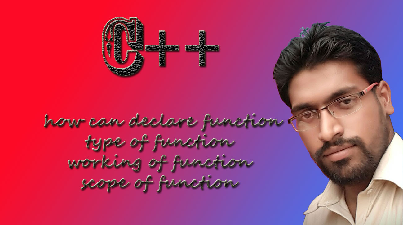 Function in C++ I