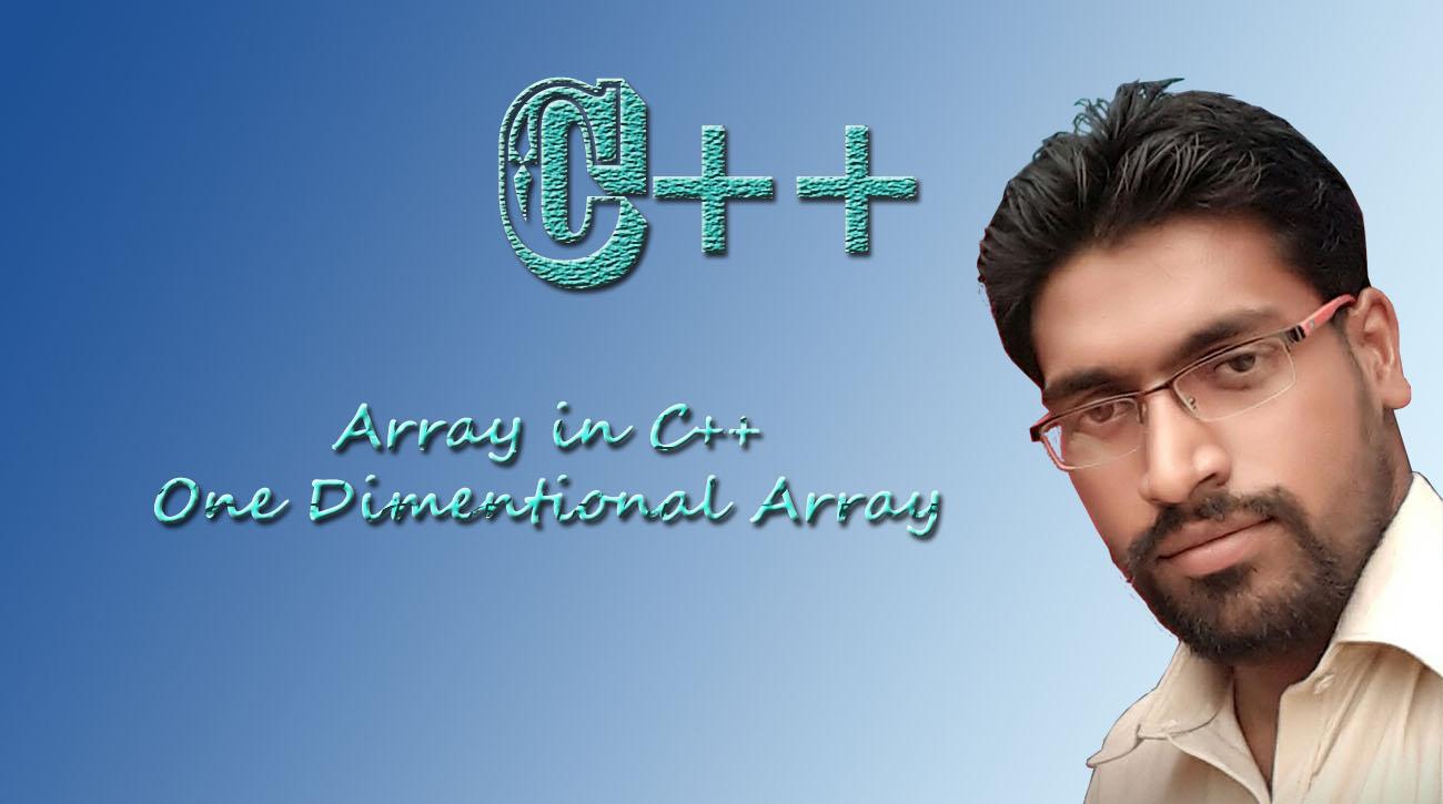 Arrays in C++ I