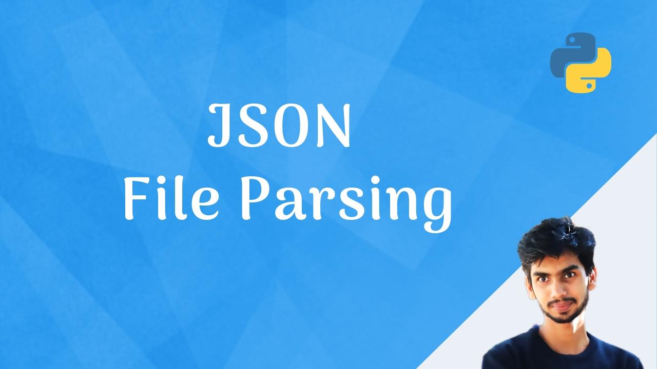 Parsing JSON files using python