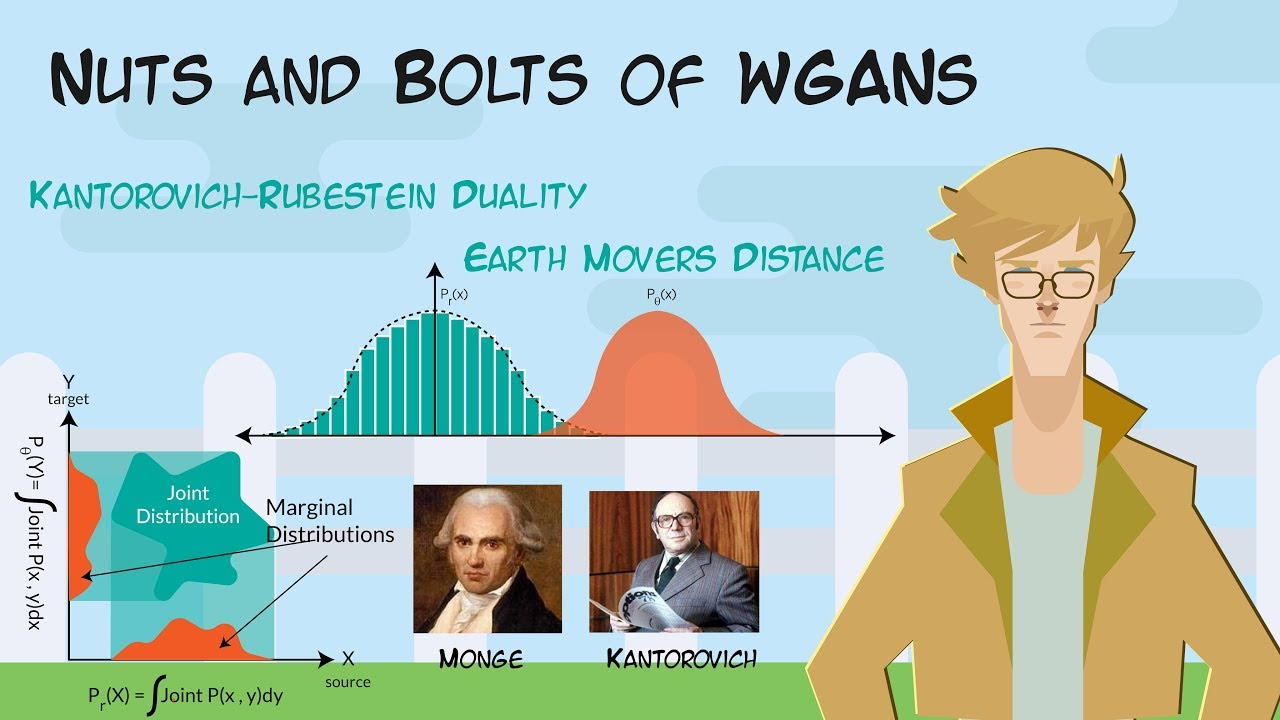 WGANs-Part-4 How does WGANs use earth movers distance